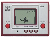 The first video game from Nintendo, Game and watch.
