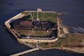 Fort Sumter april, 12, 1861