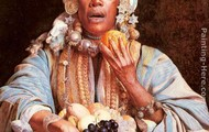 African fruit lady
