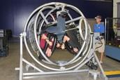 Astronauts in training