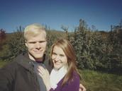 Clayton and I got engaged in North Carolina