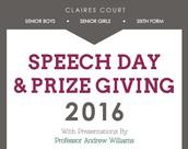 Speech Day 2016