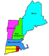 what does the New England colonies have?