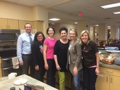 Tohickon Staff Members Volunteer at Hope Lodge