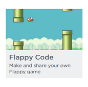 The best part about coding, is that you can enjoy making your own games! Like your own flappy bird!