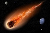What is a meteor?