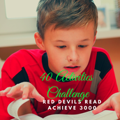 All students are challenged to complete at least 40 activities in Achieve 3000