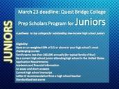 Quest Bridge College Prep Program