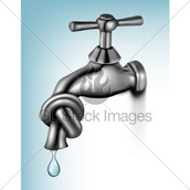 close the tap water when you finish!