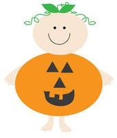 A little pumpkin!