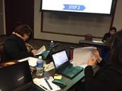 Cochran administrators attends Region 10 HB 1842 training.