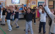 Dancing to African Music!