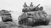 A U.S Sherman Tank