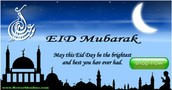 Celebrate Eid with loved ones