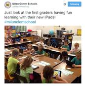 First Graders- Digital Natives