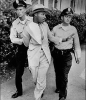 King Being Arrested