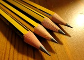THANK YOU FOR SENDING IN PENCILS!