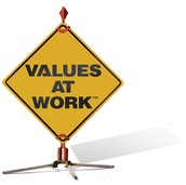 My Work Values results
