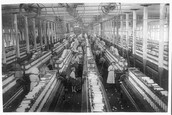 How did the textile mills help?