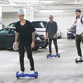 Who uses a hoverboard?