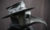 Black Death Plague Doctor Mask
