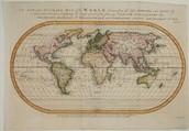 Magellan's world map