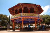 Kiosco, Center of Chignahuapan.
