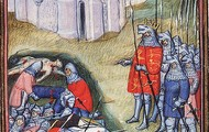 Bubonic Plague and warfare depleted the overall population of Europe in the 14th and 15th centuries.