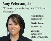 Amy Peterson: 40 Under 40
