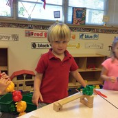 James made a ramp!