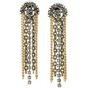Deco Fringe Earrings - SOLD