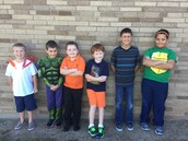 Boy Student Council Candidates