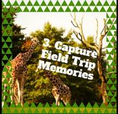 Capture field trip memories.