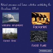 WHAT ARE SOME NATURAL PROCESSES OF THE GREENHOUSE EFFECT?