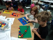 We are busy counting, and making patterns!