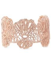 Geneve Lace Rose Gold Cuff