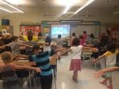 A Brain Break in Miss Ilinescu's Class