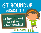 GT Round Up: August 3-7 at the ESC