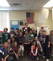 RENEE AND HER CLASSROOM WITH THE GOLDEN  SHOVEL