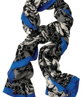 Scarf - Midnight Bloom $25