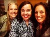 Kristin Lorton, Megan Hull & Madeleine Clement