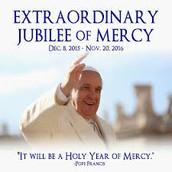 Theme:  Extraordinary Jubilee of Mercy