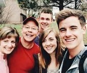 Connor and his family