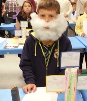 Tyler as Alexander Graham Bell-Now that is a beard!