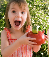 Kids + gardening = healthier eating
