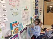 Sriya correcting our Daily Edit Sentence!