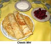 Blini Pancakes