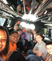 Escalade Limo Ride to Cabarrus Creamery! Great job everyone.