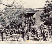 Soldiers at Appomattox Court House