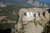 Mt. Rushmore Arial View